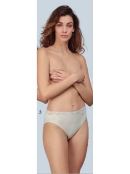 lara camiseta cubre tirante ancho algodon con aplique. 9720