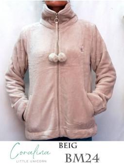 mafram-r  conjunto niña punto gorro bufanda guantes aplique lacito 21143